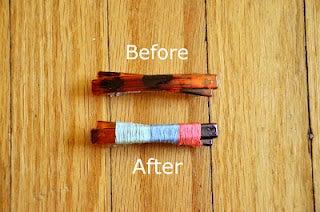 Turn a Plain Barrette Into a Colorful Hair Accessory