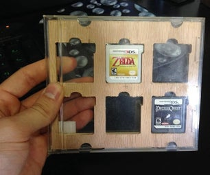 Nintendo DS and 3DS Game + SD Card Case/holder.