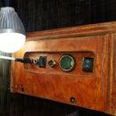 Camping Light Led & power bank (Portable)