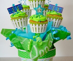 Custom Cupcake Bouquets Made Easy