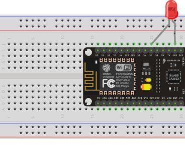 Control the LED Over Wifi Using NodeMCU Amica(ESP8266) on WebServer