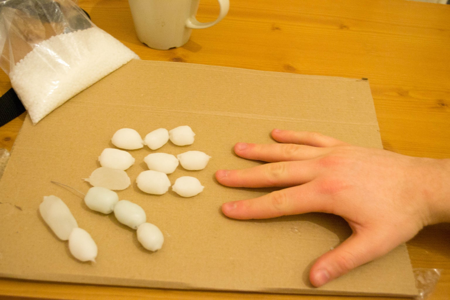 Simple Polymorph Hand: Make the Finger Bones
