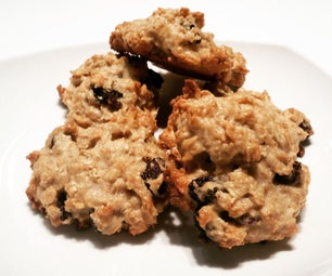 Chewy Vegan Oatmeal Raisin Cookies
