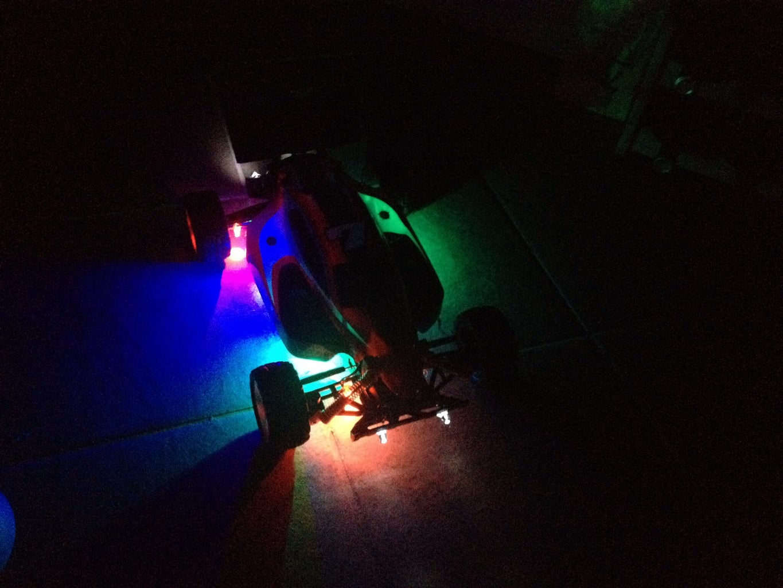 Custom RC Car Neon Lights