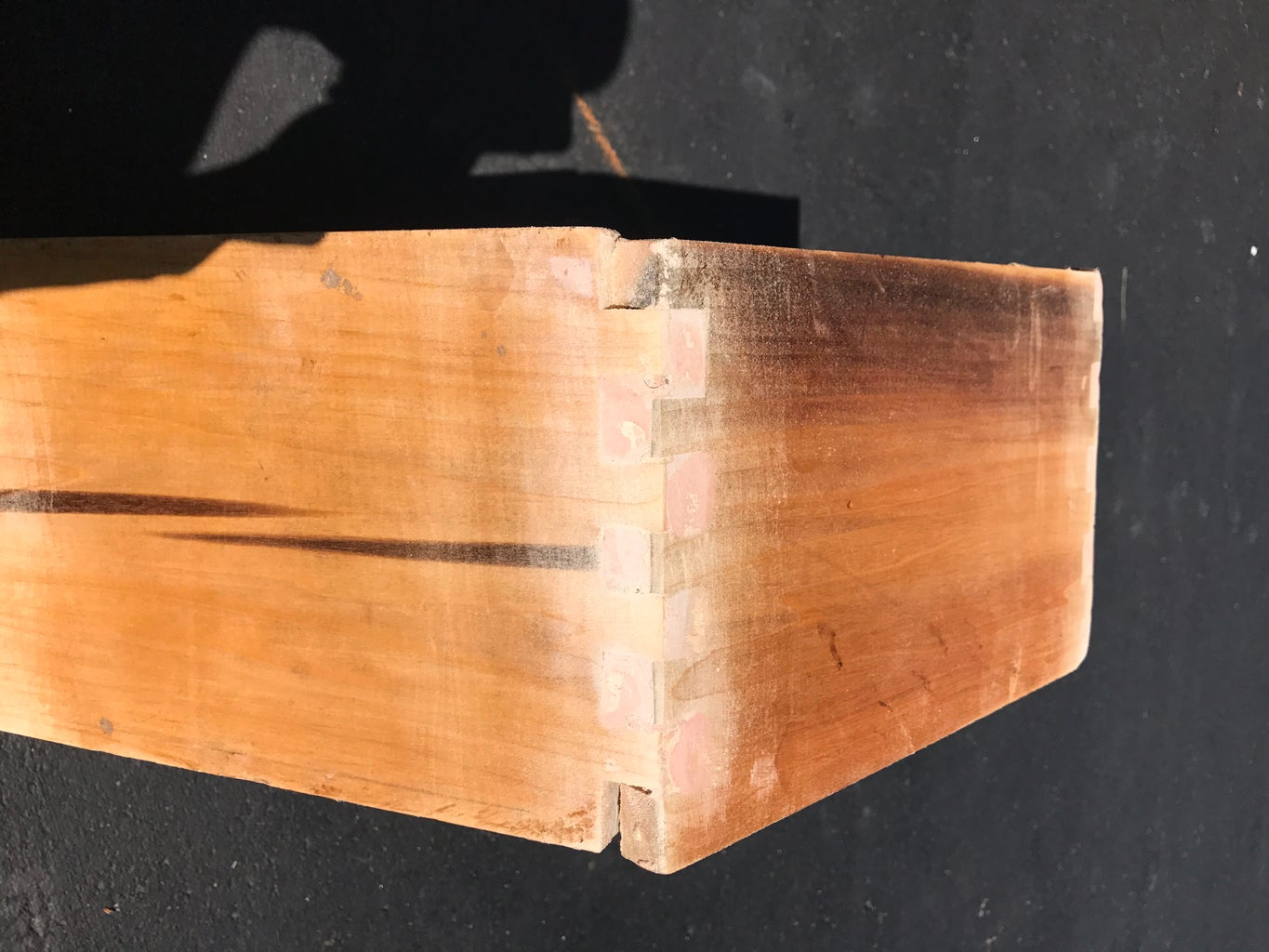 Gluing, Filler, and Stain