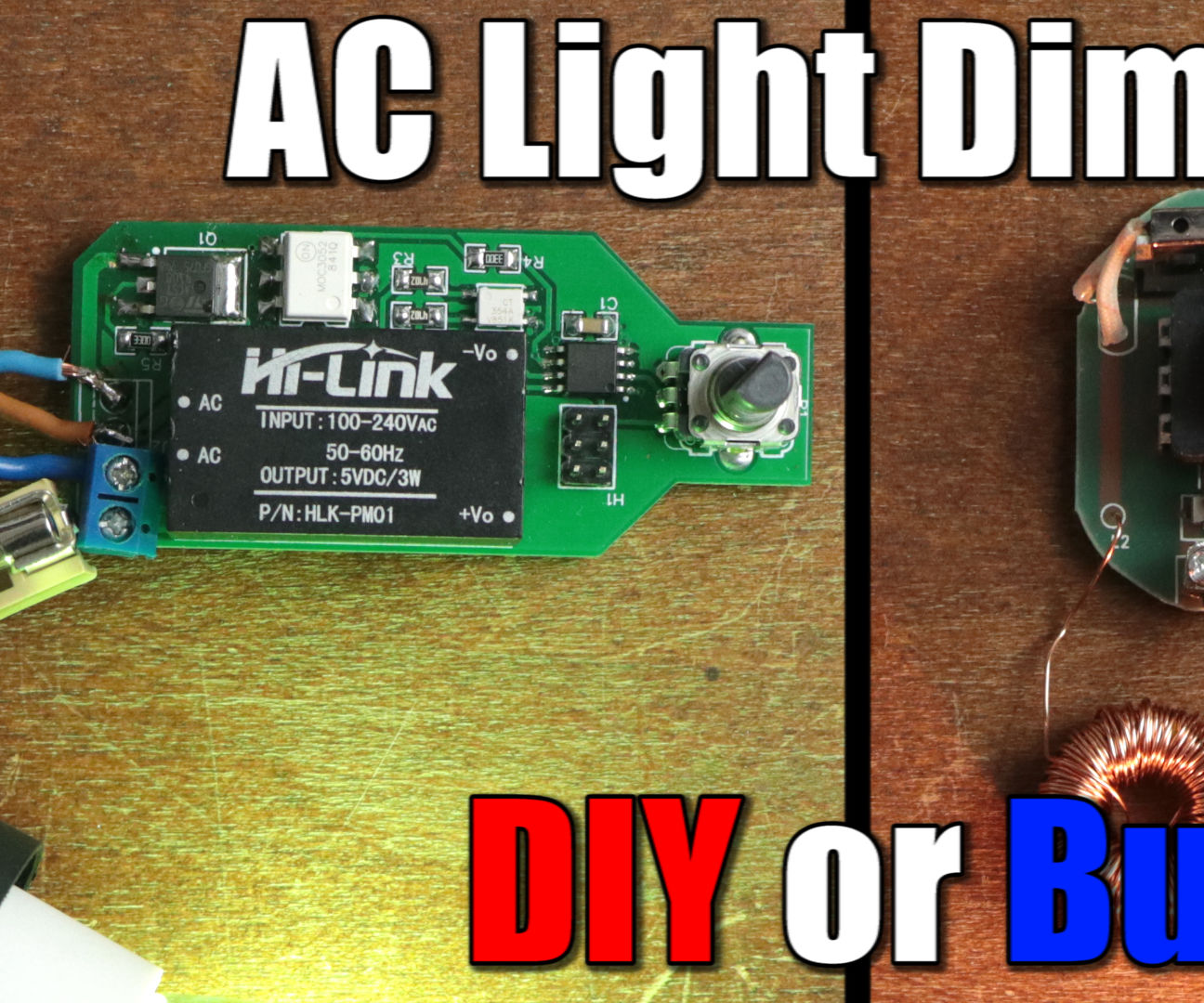 DIY AC Light Dimmer