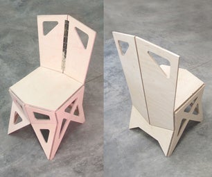 Folded Plate Chair #3B