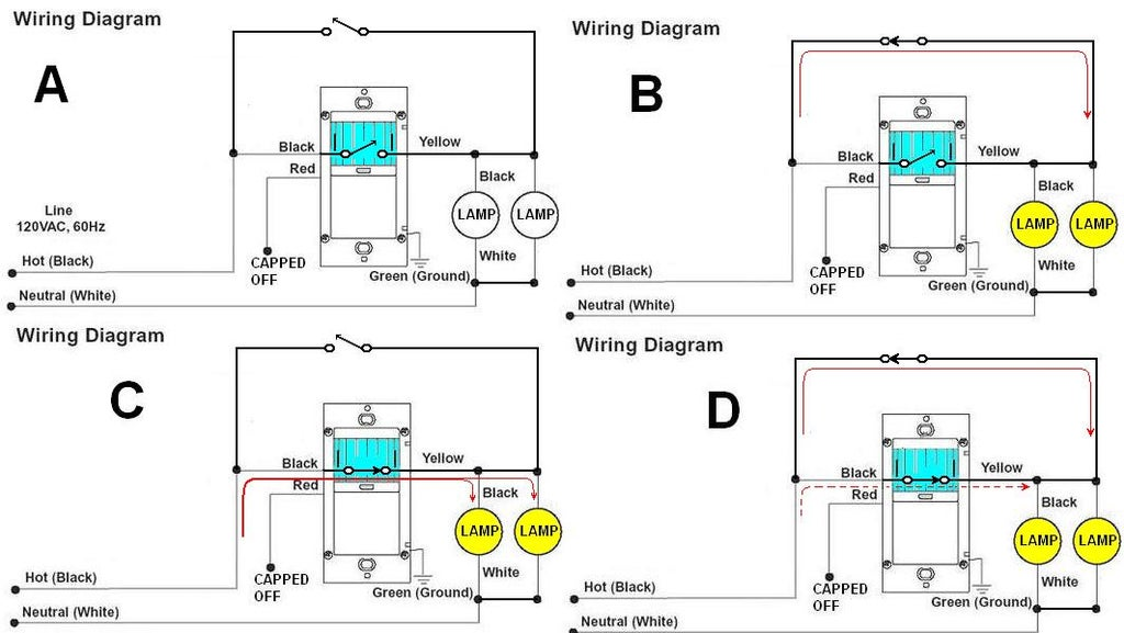 what kind of switch to operate and bypass motion sensor
