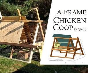 A-Frame Chicken Coop: Redux
