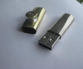 Bullet Cartridge USB Drive
