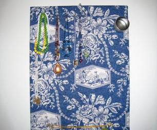 Jewelry Board With Magnetic Accessory Tin