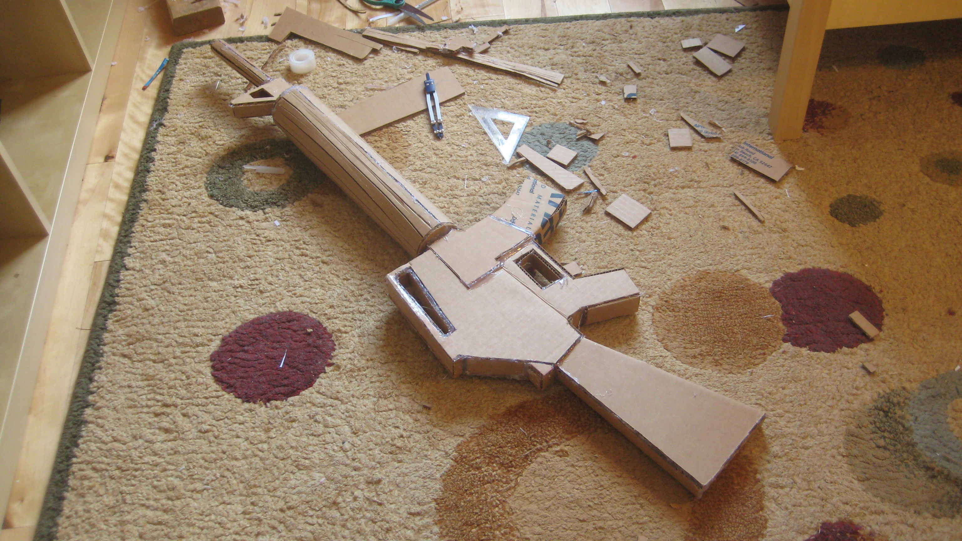 Make your own M16 prop!