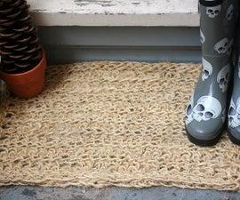 Crocheted Sisal Rug