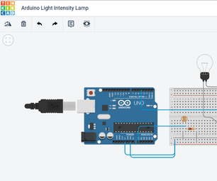 Arduino Light Intensity Lamp; QUICK AND EASY