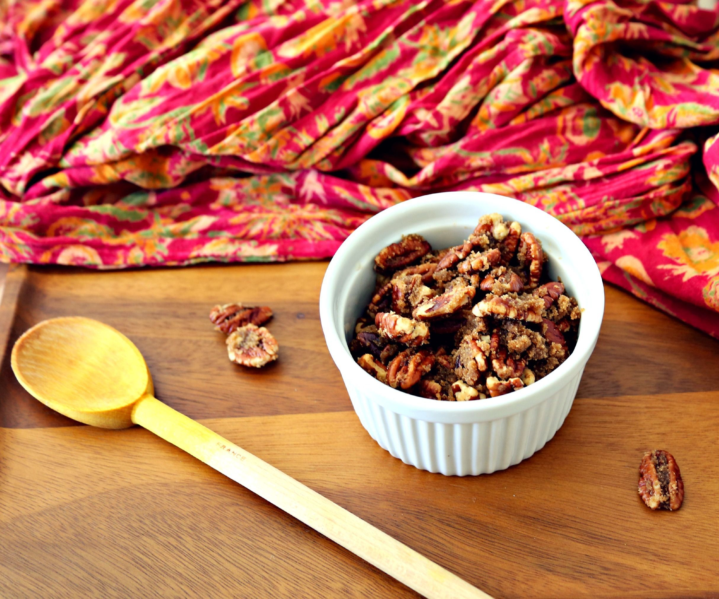 How to Candy Pecans