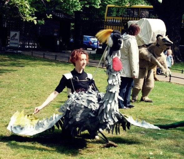 Puppet - Ugandan Crested Crane