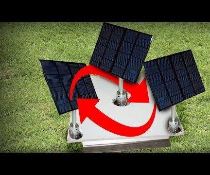 Light Detector Solar Panel With Arduino