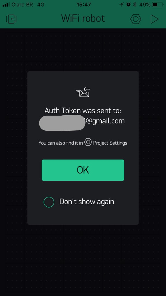 Blynk App - Create a New Project