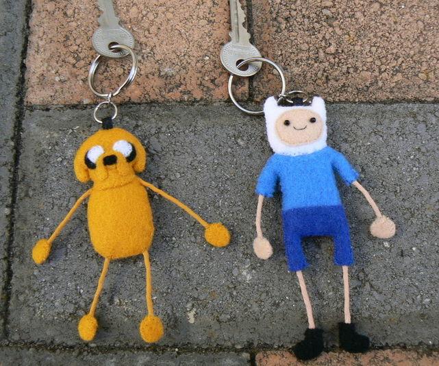 Adventure Time Keyrings