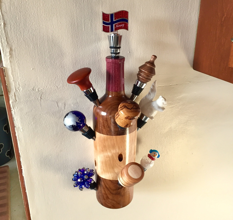 Live Edge Wood Wine Bottle Stopper