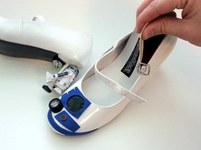 Adding R2 Unit + Install Padded Insole