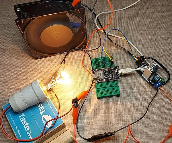 AC Dimming and AC Motor Speed Control How to With Arduino/NodeMCU