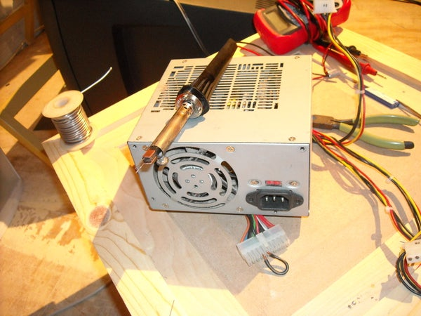 DIY Cold Heat Soldering Iron