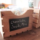 Solid Wood Crates for Storage
