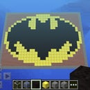 Minecraft Batman Logo