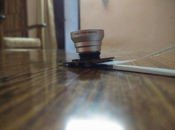 Raspberry Pi Camera Sugru Lens Mount