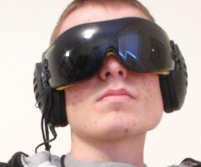 Immersive HMD (Head Mounted Display)