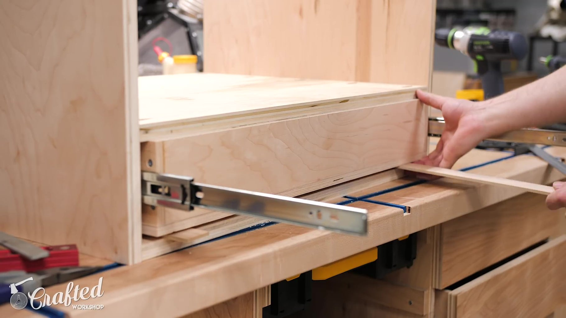 Drawer Assembly and Install