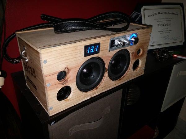 Portable Bluetooth Speaker Boombox