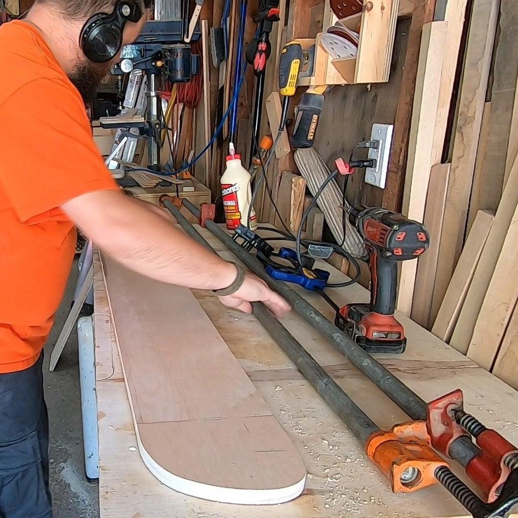 Making Back Panel - Part C (Glue Up)