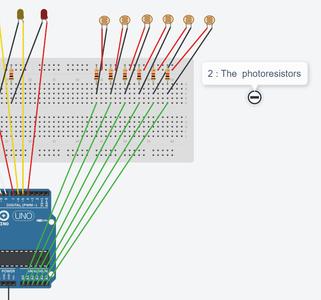 Step 4: Photoresistors Circuit