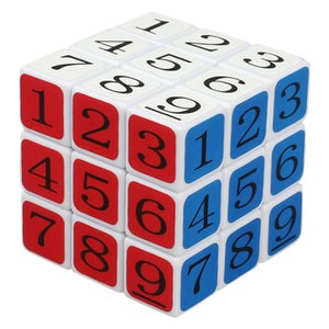 Start the Sudoku Rubik's Cube by Noting That the Center Square
