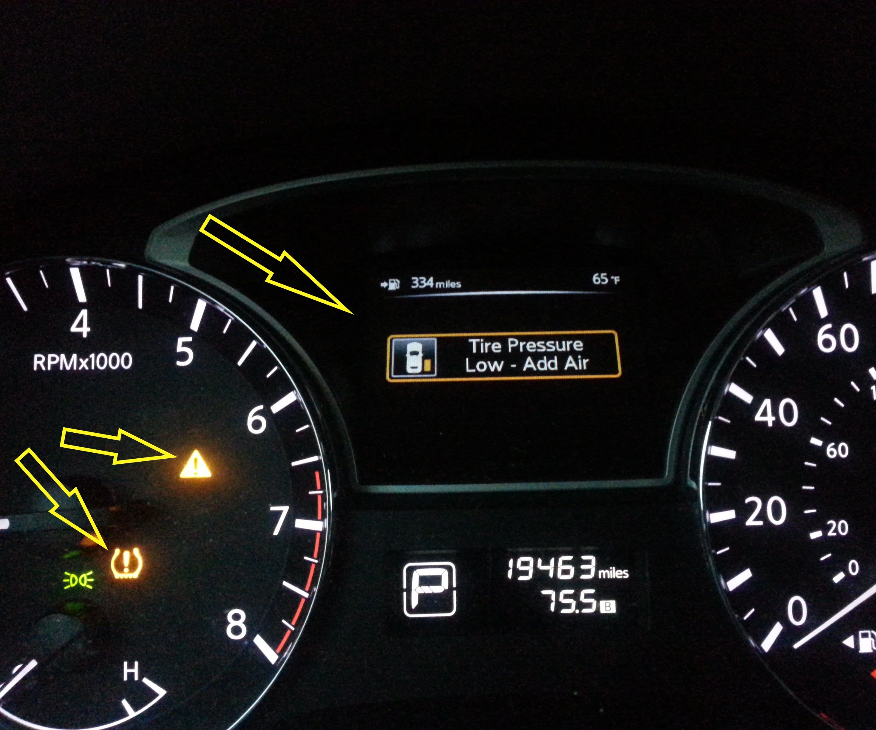 Repair Tire Pressure Monitor Sensor (TPMS)