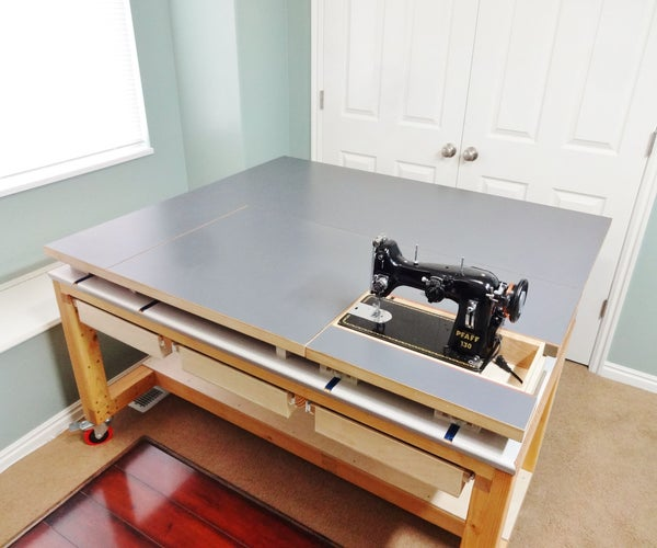 Build a Versatile Sewing and Craft Table
