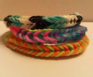 Mini Loom Fishtail Bracelet