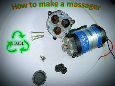 How to Make a Massager at Home
