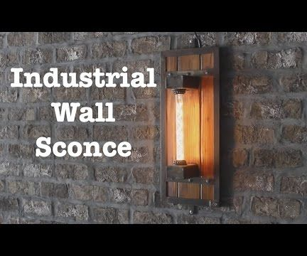 Industrial Style Wall Sconces