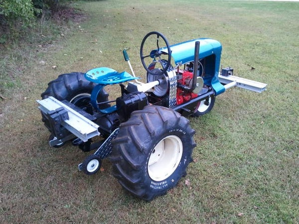 """Rebuilding a Pulling Tractor Called """"Thermal Event"""" - Part 4 of 6 - I Made It at Tech Shop!"""