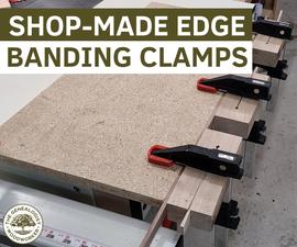 Homemade Edge Band Clamps