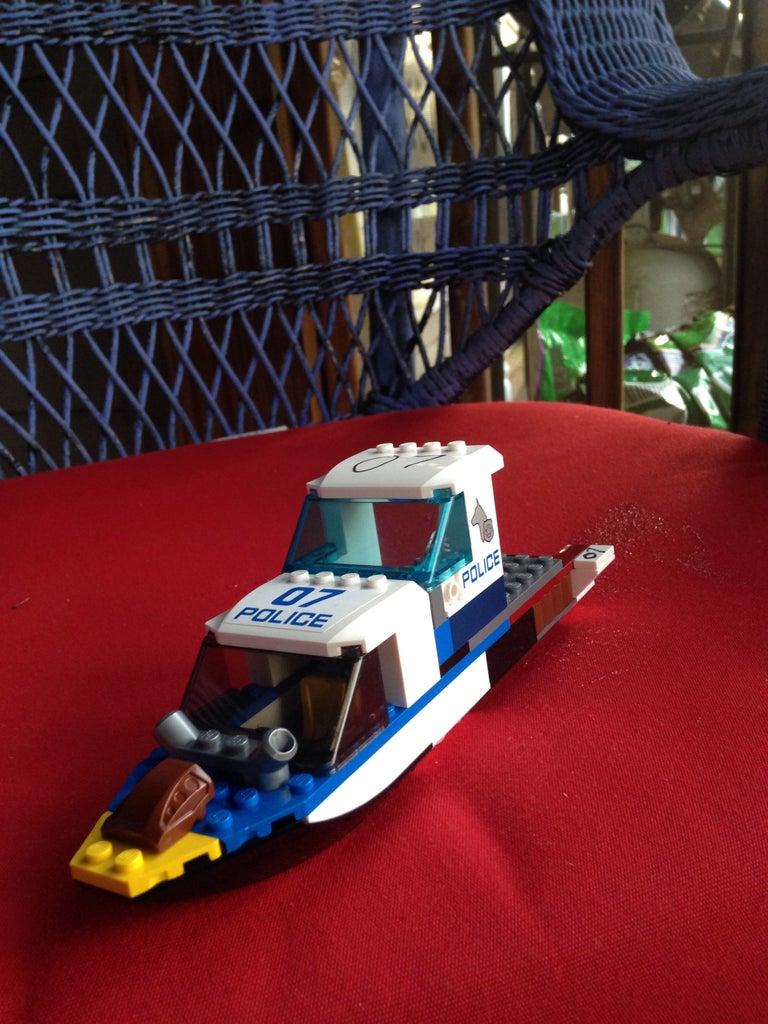 Squad 07 Transport Speed Boat
