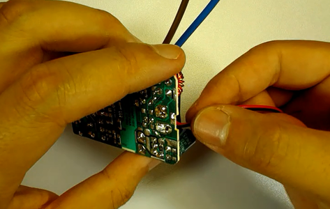 Solder a Power Cable to Supply the Esp32 FireBeetle Board