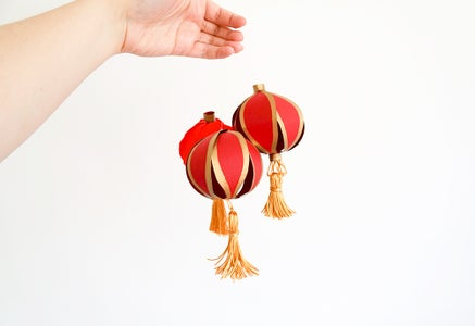 DIY Mini Chinese Lanterns | Simple Card Project