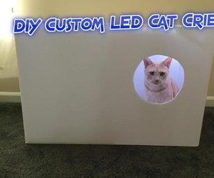 DIY Custom LED Cat Crib