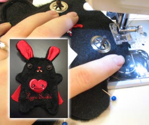 Sewing Your Bunny