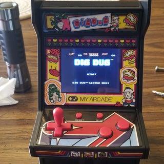 4 Game Micro Player Galaga