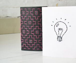 Embroidered Journals
